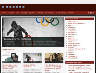 itsmeloca.altervista.org screenshot