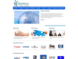 itsolutions.net.in screenshot