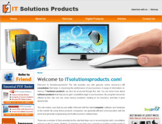 itsolutionsproducts.com screenshot