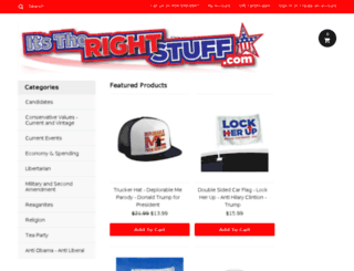 itstherightstuff.com screenshot