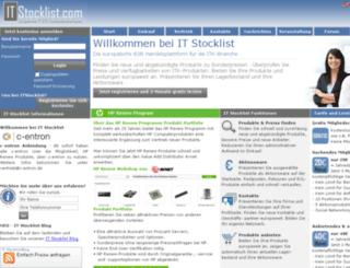 itstocklist.com screenshot