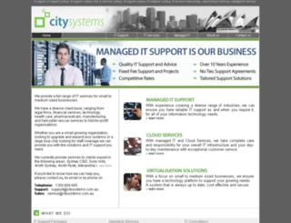 itsupportsydney.com screenshot