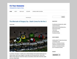 itsyourawesome.com screenshot