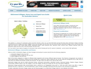 itsyourlife.com.au screenshot