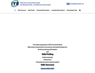 itsyourskills.com screenshot