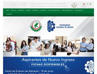 itszo.edu.mx screenshot