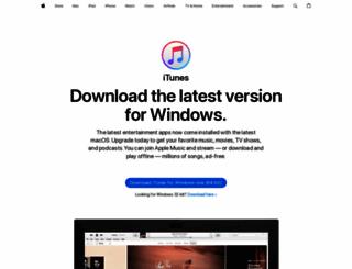 itunes.com screenshot