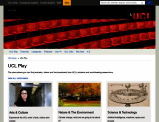 itunes.ucl.ac.uk screenshot