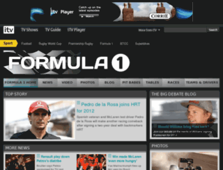 itv-f1.com screenshot