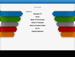 itv-ro.com screenshot