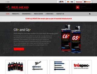 itw-redhead.com screenshot