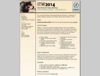 itw2014.jaist.ac.jp screenshot
