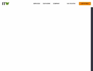 itwconsulting.com screenshot