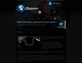 itween.pixelplacement.com screenshot