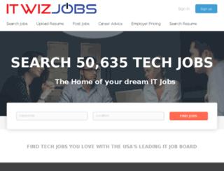 itwizjobs.com screenshot