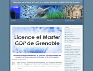 iup-gsi.ujf-grenoble.fr screenshot