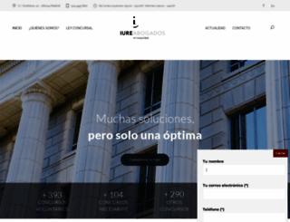 iureabogados.com screenshot