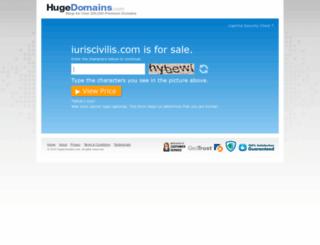 iuriscivilis.com screenshot