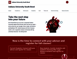 iusb.edu screenshot