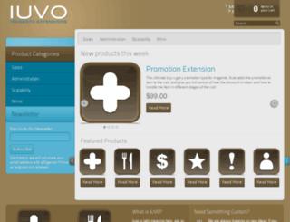 iuvocommerce.com screenshot
