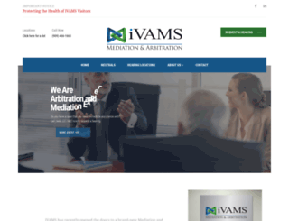 ivams.com screenshot