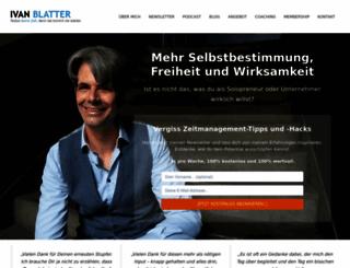 ivanblatter.com screenshot