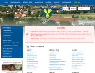 ivancice.cz screenshot