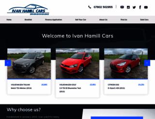 ivanhamillcars.co.uk screenshot