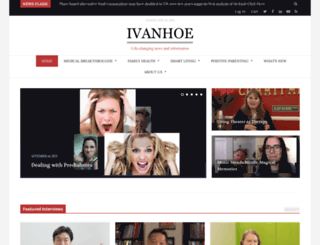 ivanhoe.com screenshot