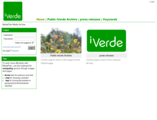 iverde.mediafiler.net screenshot
