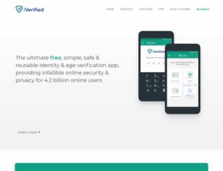 iverified.org screenshot