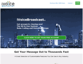 ivoicebroadcast.com screenshot