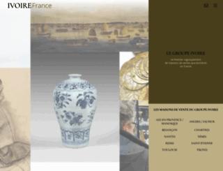 ivoire-france.com screenshot