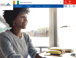 ivoire.campusfrance.org screenshot