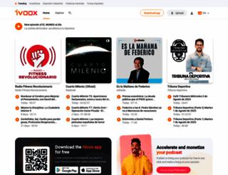 ivoox.com screenshot