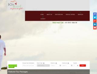 ivoryholidays.in screenshot