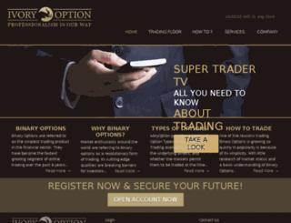 ivoryoption.com screenshot