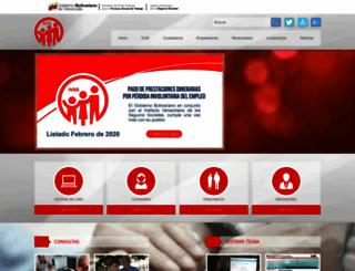 ivss.gov.ve screenshot