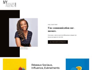 ivy-agency.com screenshot