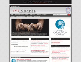 ivychapel.org screenshot