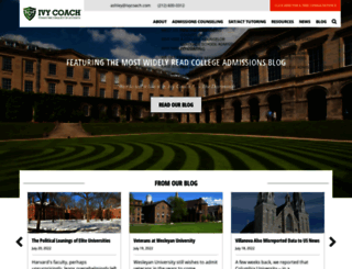 ivycoach.com screenshot