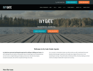 ivygate.co.uk screenshot