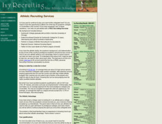 ivyrecruiting.com screenshot