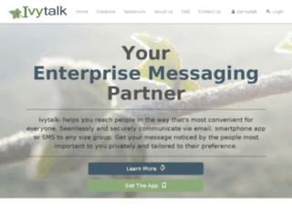 ivytalk.com screenshot