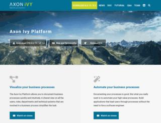 ivyteam.com screenshot