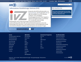 ivz.de screenshot