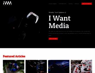 iwantmedia.com screenshot