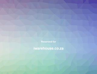 iwarehouse.co.za screenshot