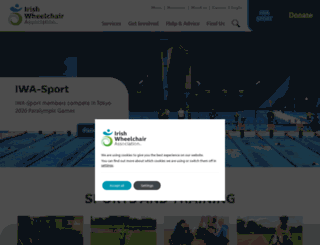 iwasport.com screenshot