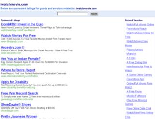 iwatchmovie.com screenshot